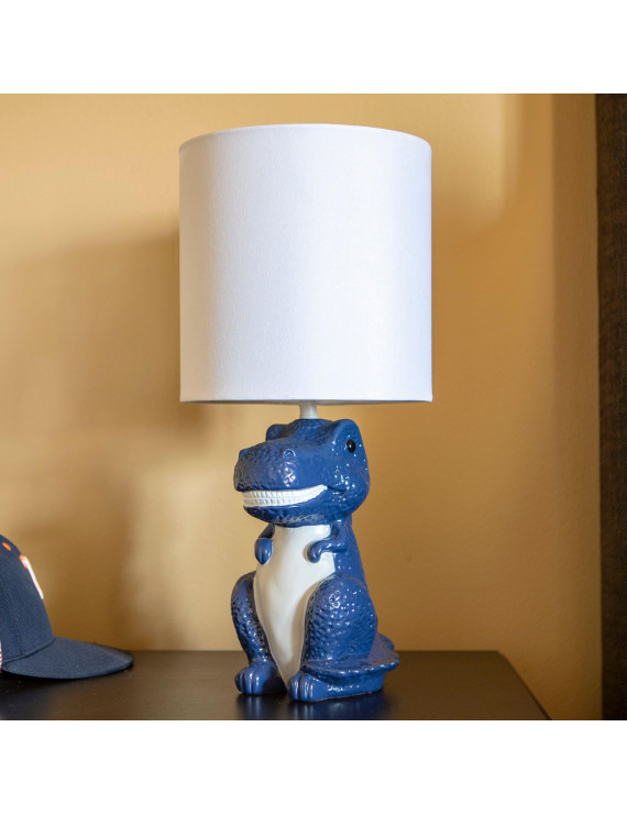 Your Zone Dinosaur Poly Grab & Go Accent Table Lamp