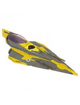 Star Wars Vehicles 2009 Anakin's Jedi Starfighter [Yellow Trim]