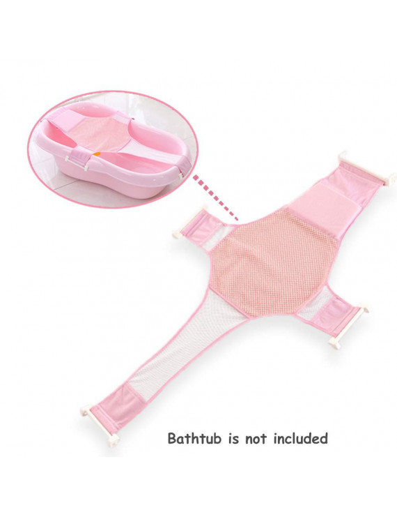 Baby Bath Seat Support Net Baby Shower Bathtub Bathing Safety Security Seat Support for Newborn Baby