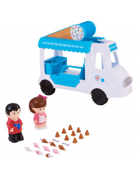 Kid Connection Ice Cream Truck Play Set, 23 Piece