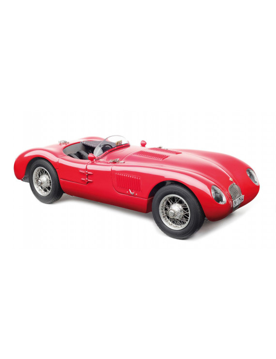 1952 Jaguar C-Type XKC 023 Red Limited Edition to 1,000 pieces Worldwide 1/18 Diecast Model Car by CMC