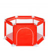 6 Sides Baby Playpen Playinghouse Newborn Baby Fence Kids Play Center Yard With Safety Gate For Children Baby Kids Pool (Without Balls)