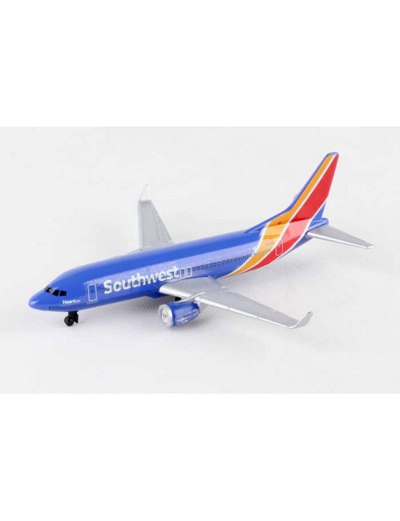 Southwest Single Plane New Livery, Blue - Daron RT8184-1 - Diecast Model Airplane Replica