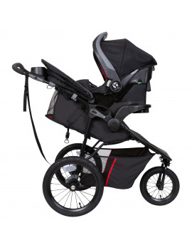 Baby Trend Pro Steer Jogger Travel System, Mars Red
