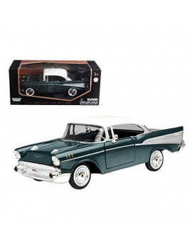 1 by 24 1957 Chevrolet Bel Air Diecast Model Car, Green