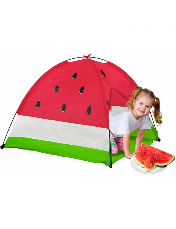 Gigatent Watermelon Dome Play Tent With Curtain Doors & Carrying Case