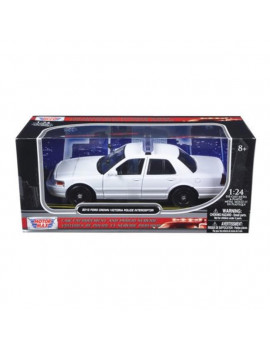 2010 Ford Crown Victoria Unmarked Model Police Car Black & White