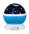 Baby Night Light, USB Romantic Rotating LED Night Lighting Lamp Moon Cosmos Sky Star Projector Lights Baby Lamp with USB Cable for Children Kids Gifts Bedroom Living Room Night