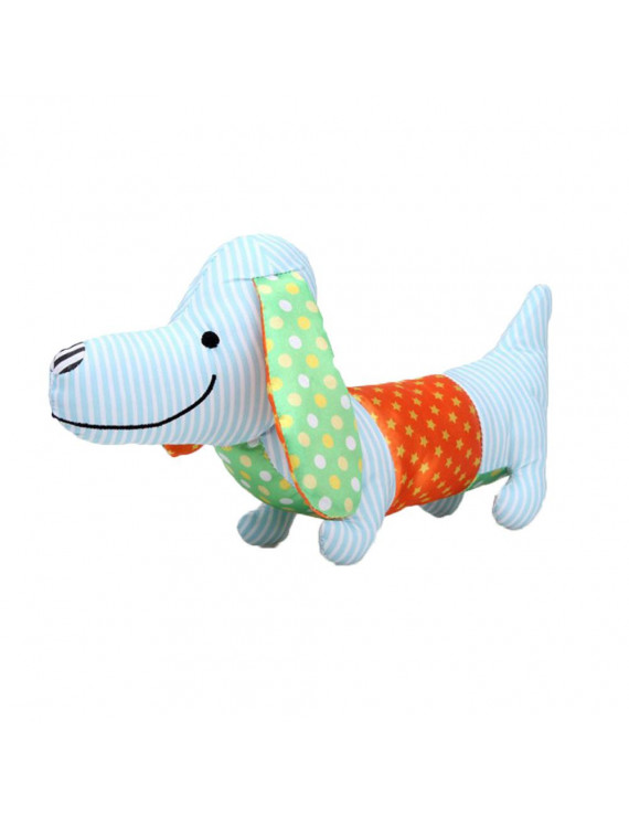 〖Follure〗Animal Dog Shape Sound Interactive Squeaky Plush Baby Kid Toy