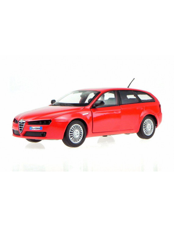 Alfa-Romeo 159 SW Hardtop, Red - Showcasts 73372R/6 - 1/24 scale Diecast Model Toy Car