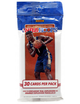 19-20 PANINI HOOPS BASKETBALL FAT PACK