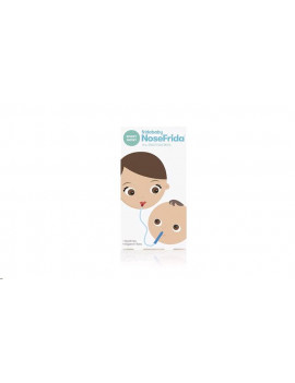 Baby Nasal Aspirator NoseFrida the Snotsucker with 20 Extra Hygiene Filters