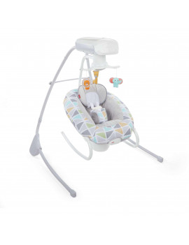 Fisher-Price 2-in-1 Deluxe Cradle 'n Swing with 6-Speeds