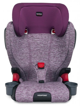 Britax Highpoint Belt-Positioning Booster Seat, Mulberry
