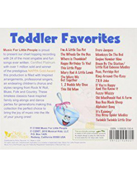 Various Artists - Toddler Favorites / Various - CD