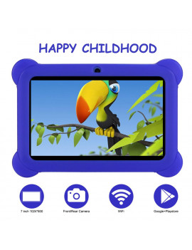 "Tagital 7"" Android Kids Tablet WiFi Camera for Children Infants Toddlers Kids Parental Control with Protective Case"