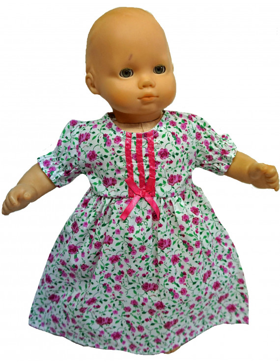 dress or nightgown for baby dolls
