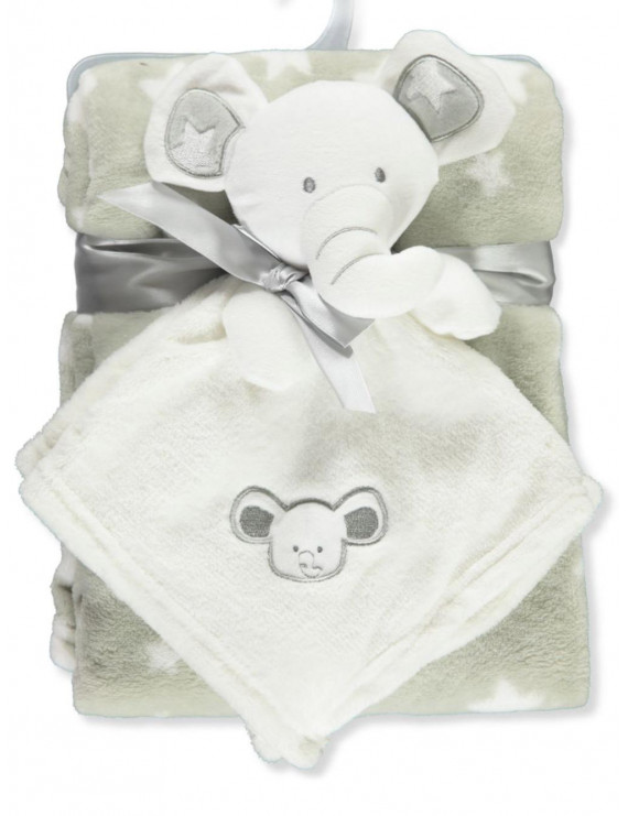 Sweet & Soft Baby Blanket and Toy 2-Piece Gift Set