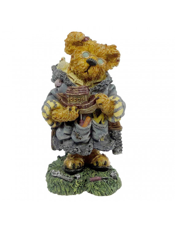 Boyds Bears Bearstone Collection Jeremy As Noah The Ark Builder 2426