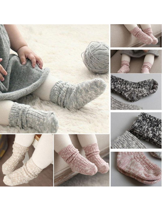 Baby socks non slip bottom children cotton socks 0-4 years old kid socks Cotton