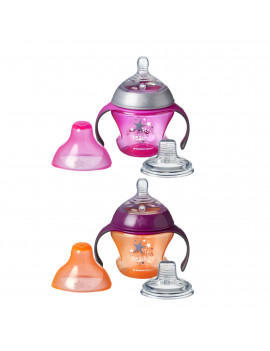 Tommee Tippee 1st Sips Soft Transition Cup - 4+ months, 2pk