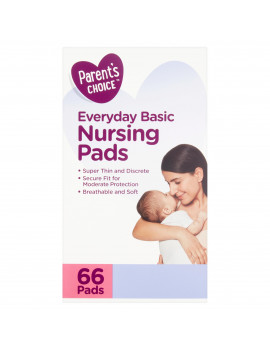 Parent's Choice Everyday Basic Nursing Pads, 66 Count