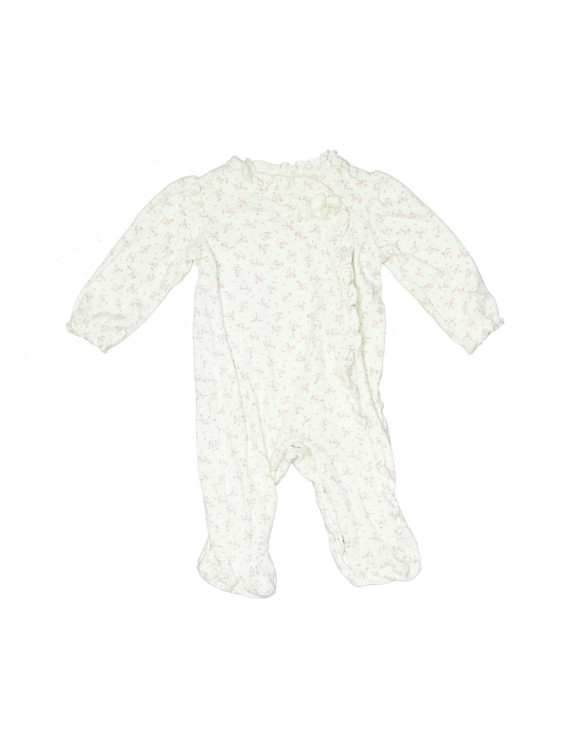 Pre-Owned First Impressions Girl's Size 0-3 Mo Long Sleeve Outfit
