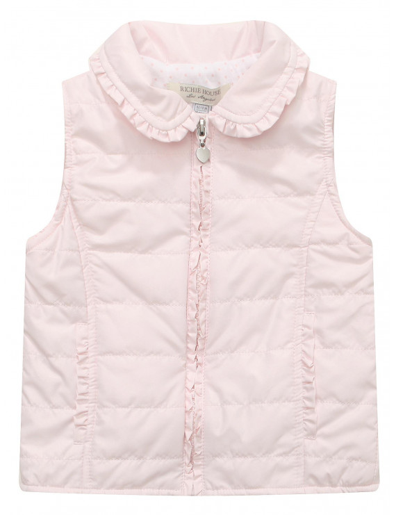 Richie House Girls' Padding Vest RH1348