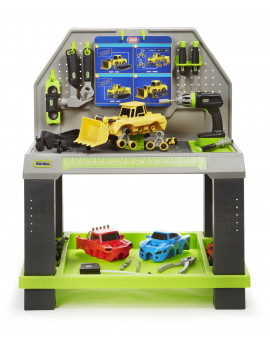 Little Tikes Construct 'n Learn Smart Workbench w/40+ Piece Accessory Set