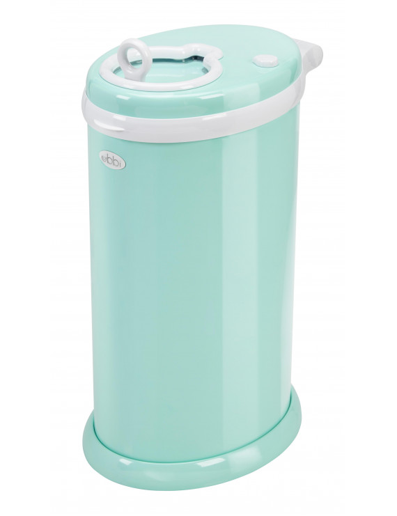 Ubbi Steel Diaper Pail, Mint
