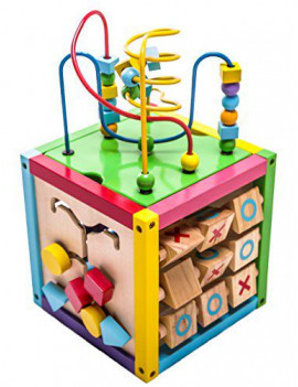 6-in-1 Wooden Playcube