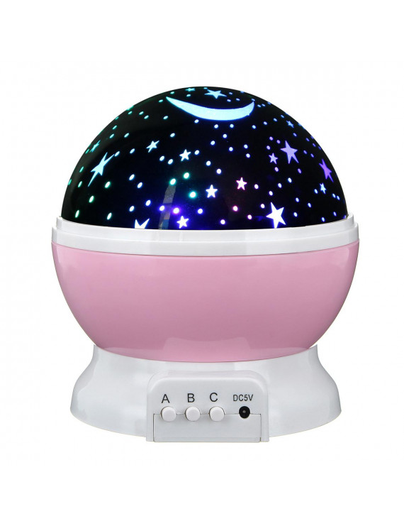 Constellation Night Light Baby Kids Lamp Moon Star Sky Projector Rotating Cosmos Boy's Toys Gift Present For 2 to 15Years Old 360 Degree Rotating  Christmas Holiday Gift Party