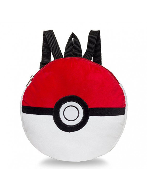 Plush Backpack - - Poke Ball Soft Doll Toys New 853492