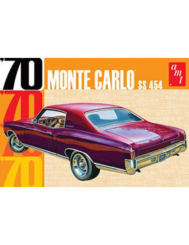 1/25 1970 Monte Carlo, Made by AMT; AMT is a United States based company; parts are sourced from Global producers By AMT