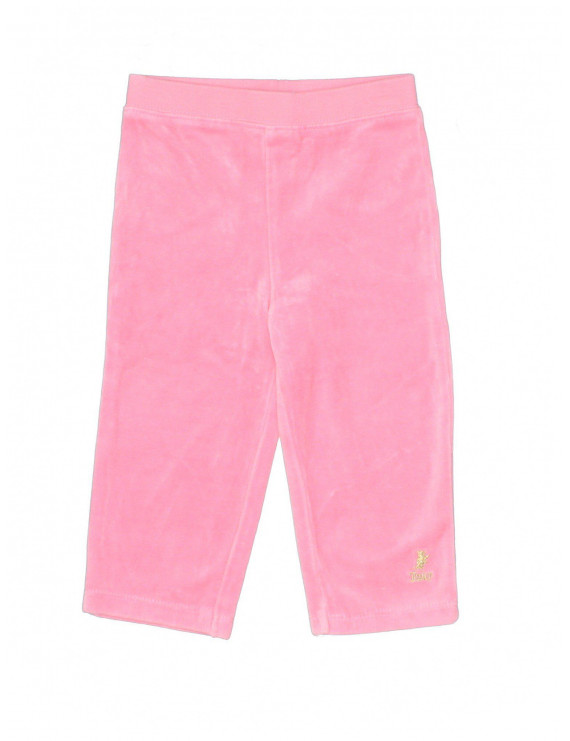 Pre-Owned Juicy Couture Girl's Size 12-18 Mo Velour Pants