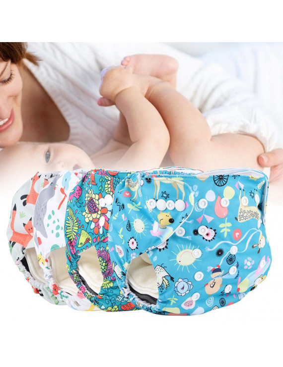 Ccdes Washable Reusable Cloth Diaper Pants Disposable Nappy Insert Pad Storage Bag for Baby,Nappy Liner,Baby Cloth Diaper