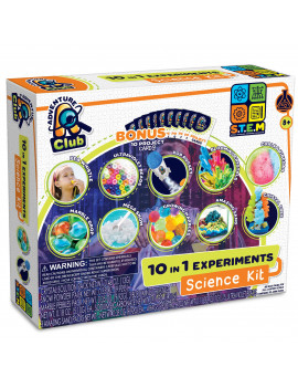 Adventure Club 10 in 1 Experiments Science Kit