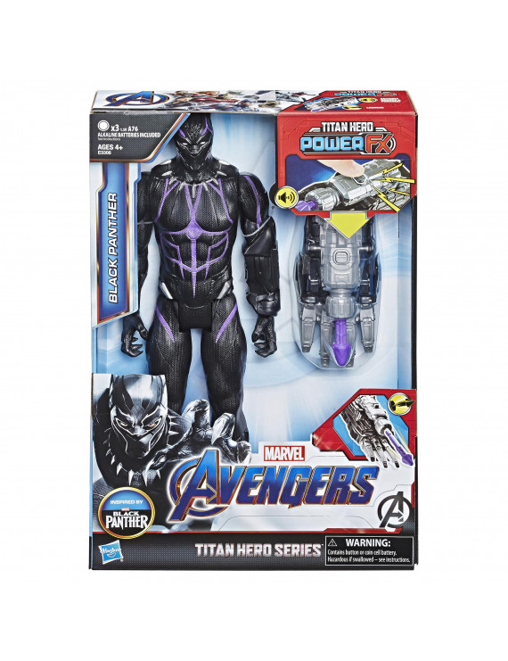 Marvel Avengers: Endgame Titan Hero Power FX Black Panther Figure