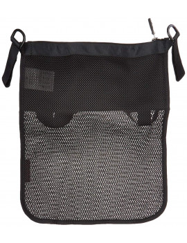 Universal Organiser, Black, Large expandable mesh pocket extends down the back of your stroller, perfect for toys, snacks, or a change of clothes By Maclaren