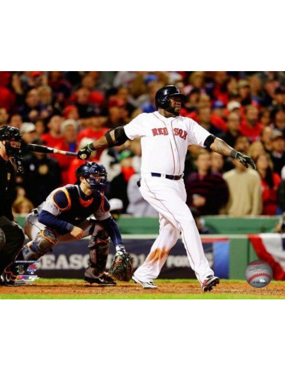 David Ortiz Grand Slam Game Two of the 2013 American League Championship Series Photo Print