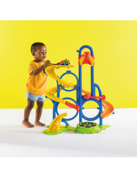 Oball Go Grippers Bounce 'N Zoom Speedway Track Play Set, Ages 24 months +