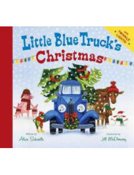 Little Blue Trucks Christmas (Board Book)