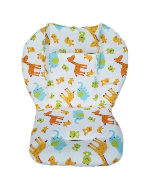 Baby Kids Soft Car Seat Stroller Cushion Pad Mat Head Body Support Pillow