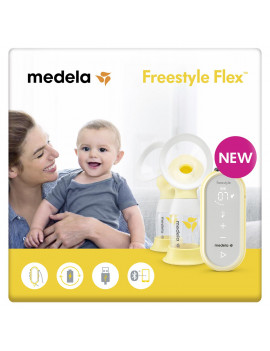 Medela Freestyle Flex Compact and Portable Double Electric Breast Pump