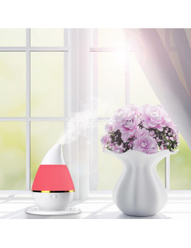 250 ml Ultrasonic aroma Humidifier/aromatherapy Essential Oil Diffuser 7 Color Changing LED Cool Mist Humidifier for Home,Yoga,Office,Spa,Bedroom,Baby Room