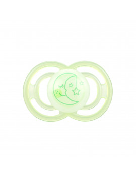 MAM Glow In The Dark Pacifiers, Baby Pacifier 6+ Months, Best Pacifier for Breastfed Babies, Premium Comfort and Oral Care 'Perfect' Collection, Unisex, 1-Count