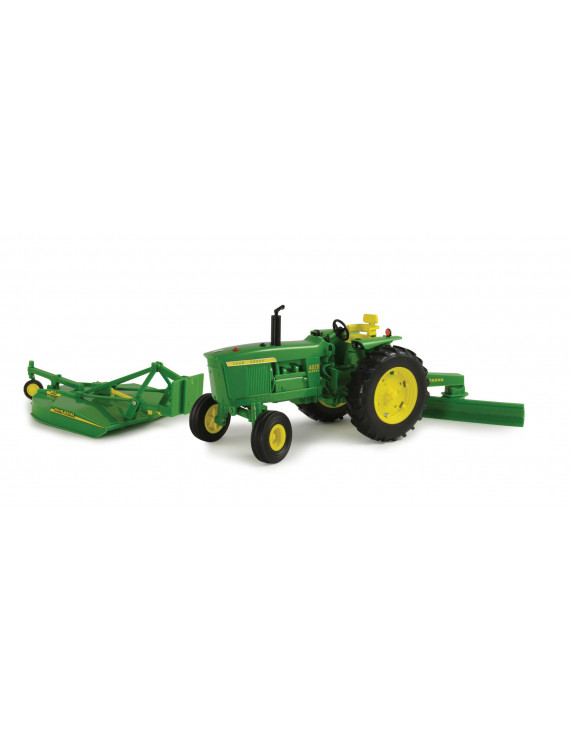 Big Farm Lights & Sounds John Deere 1:16 Scale 4020 Tractor with Attachments