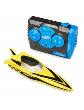 Adventure Force Radio-Controlled Mini Boat, Yellow