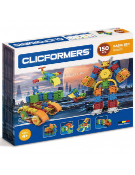 Clicformers Basic Building Multicolor Set 150 Pieces