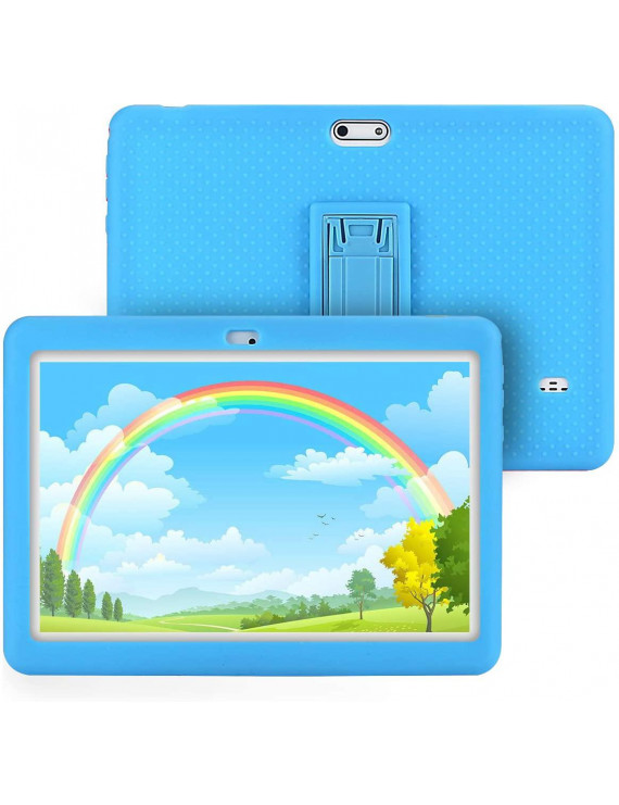Tagital T10K Kids Tablet 10.1 inch Display, Kids Mode Pre-Installed, with WiFi, Bluetooth and Games, Quad Core Processor, 1280x800 IPS HD Display